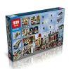 Lepin 15010 15010B Lele 30007 (NOT Lego Creator Expert 10243 Parisian Restaurant ) Xếp hình Nhà Hàng Ở Pari Có Đèn 2469 khối