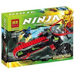 Bela 9792 (NOT Lego Ninjago Movie 70501 Warrior Bike ) Xếp hình Xe Đạp Chiến Binh 214 khối