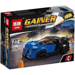Lepin 28002 Sheng Yuan 6798 Speed Champions 75878 Bugatti Chiron Xếp hình Bugatti Chiron 195 khối