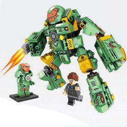Lego Super Heroes MOC Sheng Yuan MK37 Lepin 38004 Ironman MK37 Xếp hình Người Sắt MK37 327 khối