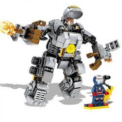 Sheng Yuan MK1 Lepin 38003 Super Heroes MOC Ironman MK1 Xếp hình Người Sắt MK1 328 khối