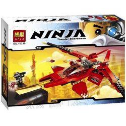 Bela 10219 Lele 79114 (NOT Lego Ninjago Movie 70721 Kai Fighter ) Xếp hình Máy Bay Chiến Đấu Của Kai 196 khối