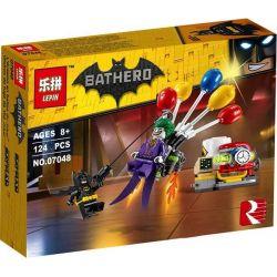 Lepin 07048 Sheng Yuan SY877A Bela 10626 The Batman Movie 70900 Joker Balloon Escape Xếp hình Joker trốn thoát bằng bóng bay 124 khối