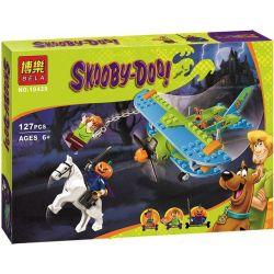 Bela 10429 (NOT Lego Scooby-Doo 75901 Mystery Plane Adventures ) Xếp hình Cuộc Phiêu Lưu Máy Bay Bí Ẩn 128 khối