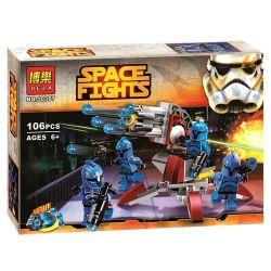Bela 10367 Star Wars 75088 Senate Commando Troopers Xếp hình Senate Commando Troopers 106 khối