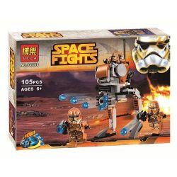 Bela 10368 Sheng Yuan SY503B Star Wars 75089 Geonosis Troopers Xếp Hình Geonosis Troopers 105 Khối