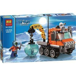 Lego City 60033 Bela 10438 Arctic Ice Crawler Xếp hình Xe chuyên dụng Bắc Cực 119 khối