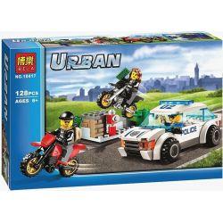 Lego City 60042 Bela 10417 High Speed Police Chase Xếp hình Chase cảnh sát tốc độ cao 128 khối