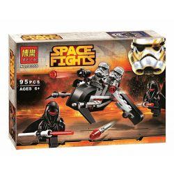 Bela 10366 Star Wars 75079 Shadow Troopers Xếp hình Quân đội bóng ma Shadow Troopers 95 khối