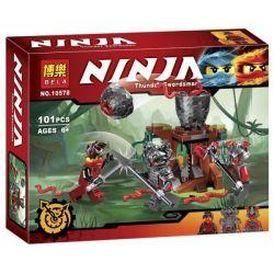 Bela 10578 Lepin 06047 (NOT Lego Ninjago Movie 70621 The Vermillion Attack ) Xếp hình Cuộc Chiến Giữa Kai Và Vermillion 101 khối