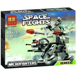 Bela 10362 Star Wars 75075 Microfighters – AT-AT Xếp hình Cỗ máy AT-AT 88 khối