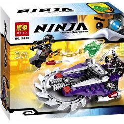 Bela 10218 (NOT Lego Ninjago Movie 70720 Hover Hunter ) Xếp hình Cỗ Máy Lưỡi Cưa 79 khối