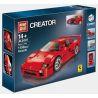 Lego Creator 10248 Lepin 21004 Bela 10567 Yile 001 F40 Sport Car Xếp hình ô tô thể thao Ferrari F40 1158 khối