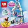 Bela 10435 Lepin 25005 Lele 79168 Sheng Yuan SY373 Jiego JG301 Disney Princess 41062 Elsa's Sparkling Ice Castle Xếp hình lâu đài băng tuyết của Elsa 297 khối