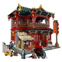 Xingbao XB-01002 Modular Buildings Chinese Pub Xếp hình Quán Rượu Cổ 3267 khối