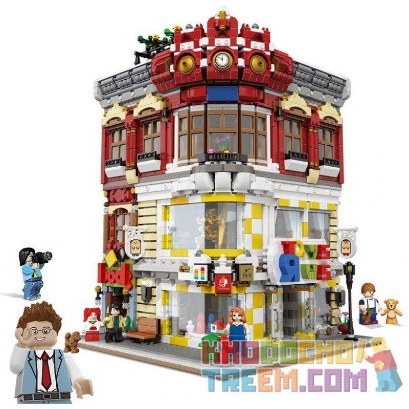 Lego Creator MOC XingBao xb-01006 Toys and Bookstores Xếp hình Cửa hàng sách và đồ chơi 5491 khối
