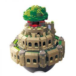 Lego Creator MOC XingBao XB-05001 Laputa: Castle in the Sky Xếp hình Hộp nhạc Lâu đài bay Laputa động cơ pin 1179 khối