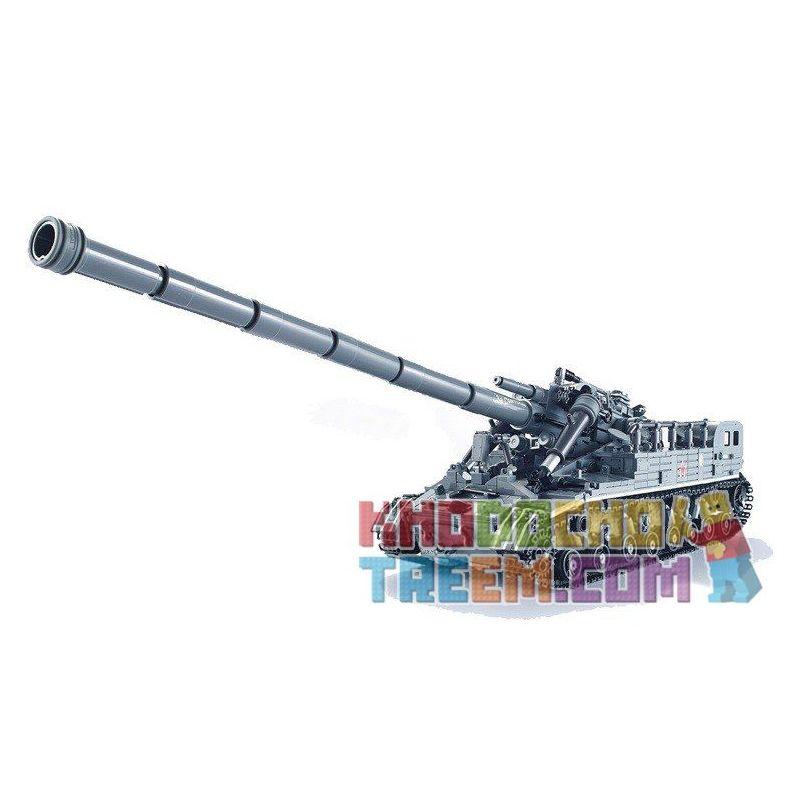 XingBao XB 06001 Military Army MOC The T92 Tank Xếp hình Xe tăng T-92 1832 khối