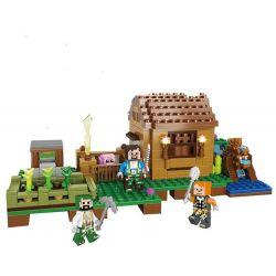 Lego Minecraft MOC XingBao xb-09002 Mini Farm Xếp hình Trang trại nhỏ 396 khối