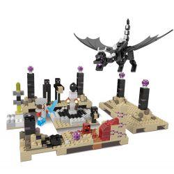 Lego Minecraft MOC XingBao xb-09004 The End World with Ender Dragon Xếp hình Rồng địa ngục 678 khối