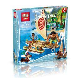 Lepin 25003 Bela 10663 Sheng Yuan SY856 Disney Princess 41150 Moana's Ocean Voyage Xếp hình Cuộc thám hiểm đại dương của Moana 322 khối