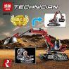 Lepin 20025 Technic 8294 Excavator Xếp hình Máy Xúc 760 khối