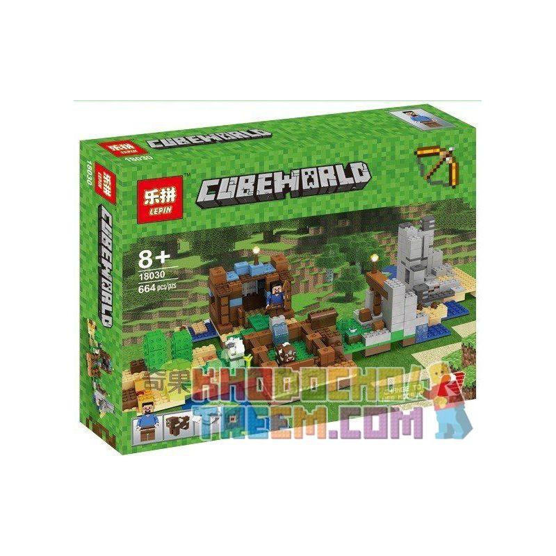 Bela 10733 Sheng Yuan 969 SY969 Lepin 18030 Lele 33230 33231 33232 (NOT Lego Minecraft 21135 The Crafting Box 2.0 ) Xếp hình Tự Do Sáng Tạo 717 khối