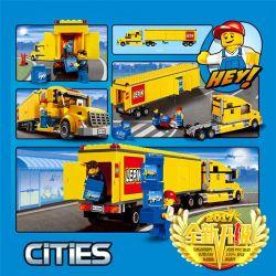 Lego City 3221 Lepin 02036 Truck Xếp hình Xe tải 298 khối