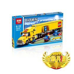 Lepin 02036 (NOT Lego City 7848 Toys R Us City Truck ) Xếp hình Xe Tải 356 khối