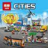 Lepin 02038 (NOT Lego City 60097 City Square ) Xếp hình Quảng Trường Thành Phố 1767 khối