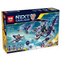 Lepin 14033 Bela 10702 Sheng Yuan 896 SY896 (NOT Lego Nexo Knights 70353 The Heligoyle ) Xếp hình Chiến Đấu Quái Vật Rồng Heligoyle 362 khối