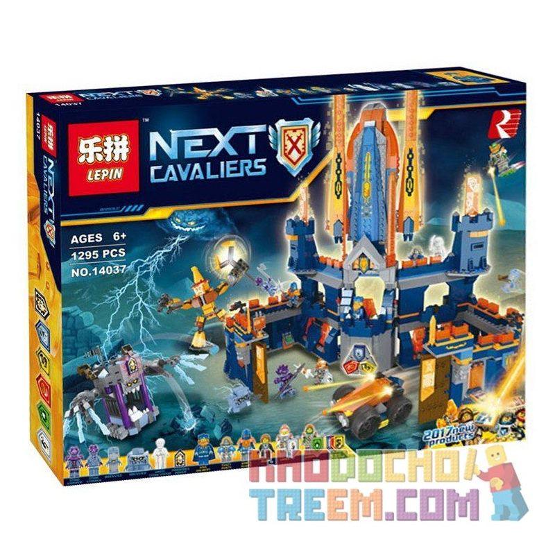 Lepin 14037 Lele 32028 Bela 10706 Sheng Yuan SY899 Nexo Knights 70357 Knighton Castle Xếp hình Lâu Đài Của Các Hiệp Sỹ 1426 khối