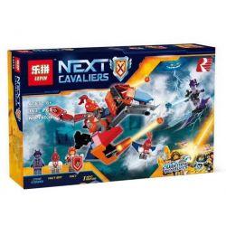 Lepin 14038 Bela 10701 (NOT Lego Nexo Knights 70361 Macy's Bot Drop Dragon ) Xếp hình Rồng Bot Drop Của Macy 163 khối