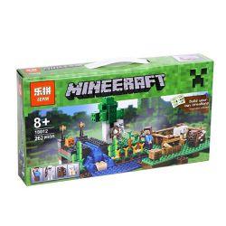 Bela 10175 Lepin 18012 Lele 33184 Minecraft 21114 The Farm Xếp Hình Trang Trại 262 Khối