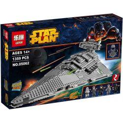 Lepin 05062 Star wars 75055 Imperial Star Destroyer Xếp hình Tàu Phá Hủy Sao Của Hoàng Đế 1359 khối