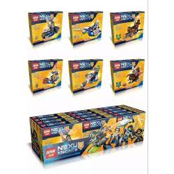 Lepin 14015 (NOT Lego Nexo Knights 6 In 1 ) Xếp hình 6 Trong 1 378 khối