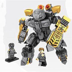 Lego Super Heroes MOC Sheng Yuan MK25 Lepin 38005 Ironman MK25 Xếp hình Người Sắt MK25 328 khối