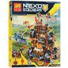 Lepin 14018 Decool 8017 Bela 10518 Lele 79307 (NOT Lego Nexo Knights 70321 General Magmar's Siege Machine Of Doom ) Xếp hình Pháo Đài Hủy Diệt Quỷ Nham Thạch 544 khối