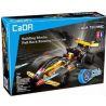 Decool 3413 Doublee Cada C52001 C52001W Sheng Yuan 7010B (NOT Lego Technic 42026 Black Champion Racer ) Xếp hình Xe Ô Tô Đua Màu Đen Vô Địch Kéo Thả 137 khối