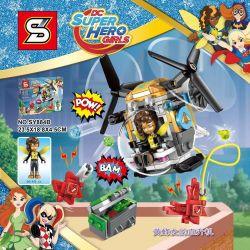Sheng Yuan SY884B Bela 10614 Super Hero Girls 41234 Bumblebee Helicopter Xếp hình Trực thăng của Bumblebee 142 khối