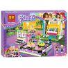 Lepin 01009 Sheng Yuan SY839 Bela 10560 Friends 41133 Amusement Park Bumper Cars Xếp hình trò chơi đụng xe, xích đu 424 khối