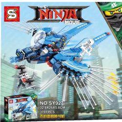 Sheng Yuan 927 SY927 (NOT Lego Ninjago Movie Jay's Thunder Jet ) Xếp hình Phi Thuyền Sét Của Jay 370 khối