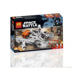 Lele 35012 Star Wars 75152 Imperial Assault Hovertank Xếp hình Xe tăng bay của đế chế thiên hà 405 khối