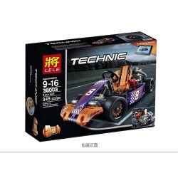 Lele 38003 Technic 42048 Race Kart Xếp Hình Xe đua Go-kart 345 Khối