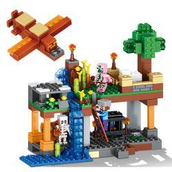 Lele 79256 (NOT Lego Minecraft Mini Farm ) Xếp hình Trang Trại Nhỏ 340 khối