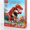 Lego Creator 3 in 1 31024 Decool 3116 Roaring Power Xếp hình Khủng long, thủy phi cơ, xe thể thao 374 khối