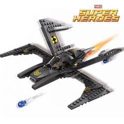 Lego Super Heroes MOC Sheng Yuan SY307 Batwing Xếp hình Phi thuyền Người Dơi 166 khối