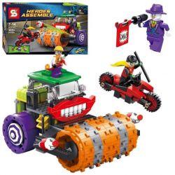 Sheng Yuan 317 SY317 (NOT Lego Super Heroes The Joker Steam Roller ) Xếp hình Xe Lu Điên Rồ Của Joker 486 khối