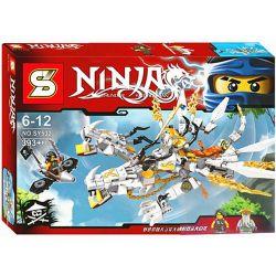 Sheng Yuan 532 SY532 (NOT Lego Ninjago Movie Master Wu Double Head White Dragon ) Xếp hình Rồng Trắng 2 Đầu Của Sư Phụ Wu 393 khối