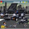 Woma C0523 Ultra Agents MOC SWAT 3 in 1 Boom Car Xếp hình Xe rà phá bom mìn của đặc nhiệm 284 khối